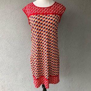 Max Studio Modest Fun Print Dress